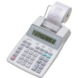 Sharp EL 1750V Portable Printing Calculator